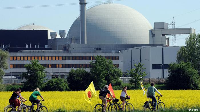 Biblis power plant was shut down following the disaster in Fukushima(zu dapd-Text) Foto: Thomas Lohnes/dapd