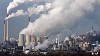 Emissions from Germany's largest coal-burning plant
