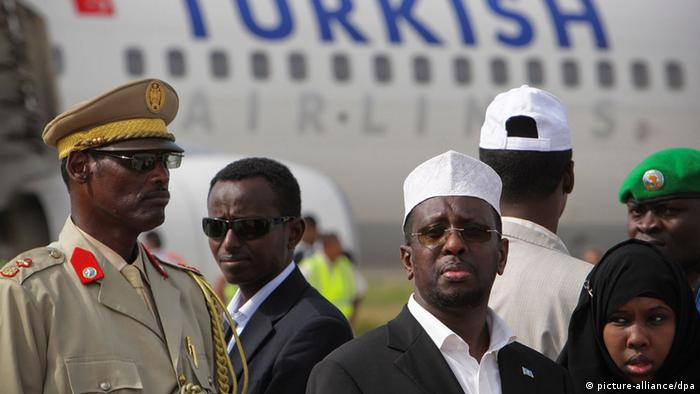 Mogadişu'da Türk Hava Yolları