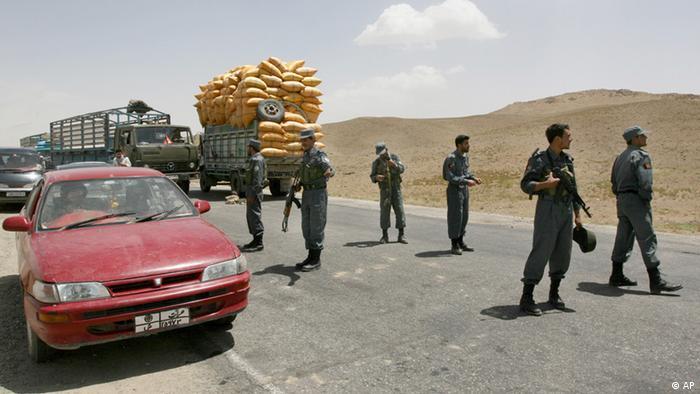 Afghanistan Autobahn Kabul-Ghazni
