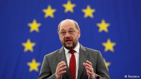 EU-Parlamentspräsident Martin Schulz in Brüssel.