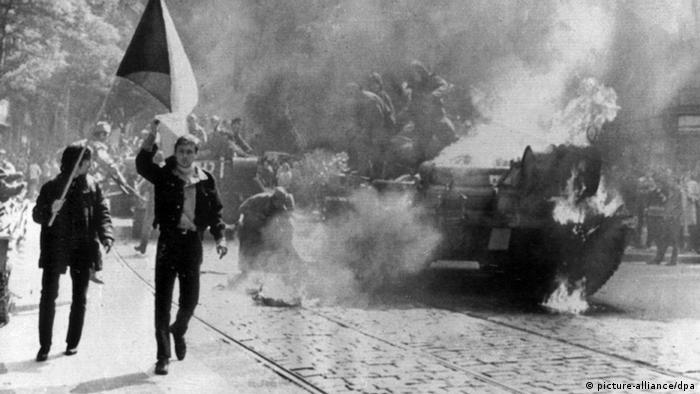 Warschauer Pakt - Einmarsch in die Tschechoslowakei