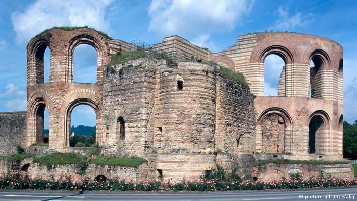 Trier Kaiserthermen Ruine des Caldariums (picture-alliance/akg)