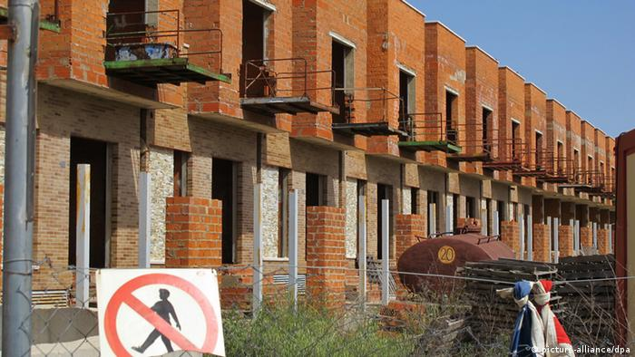 Unfinished buildings in Spain (Jens Kalaene /dpa)