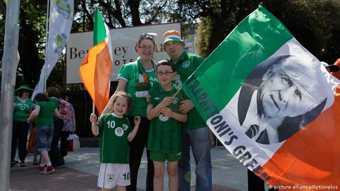 Irish national soccer team supporters