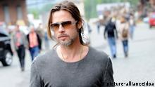 Brad Pitt auf der documenta in Kassel 2012