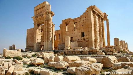 Baal Tempel in Palmyra Syrien