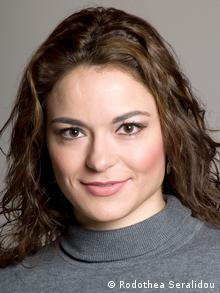 Novinarka Rodothea Seralidou