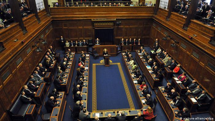 Parlament in Dublin Ireland