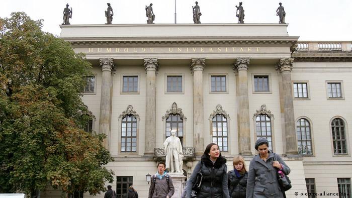 Hauptgebäude der Humboldt Universität in Berlin (picture-alliance/dpa)
