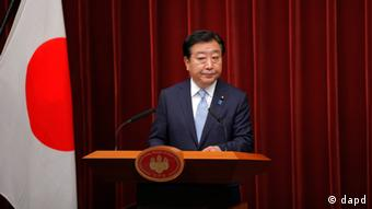 Japanese Prime Minister Yoshihiko Noda listens to a reporter's question during a news conference at the Prime Minister's official residence in Tokyo Friday, June 8, 2012.