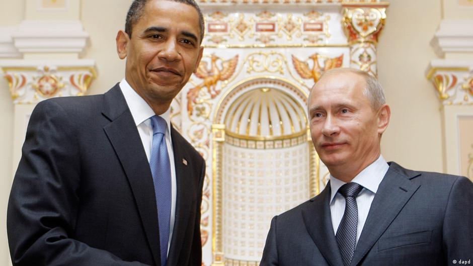 Obama pede a Putin que aceite acordo de paz na Ucrânia   DW   10.02.2015