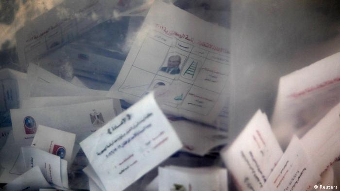 Ballots for Egypt's presidential elections