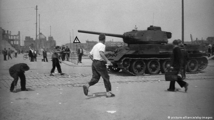 Deutschland Geschichte DDR Aufstand 17. Juni Berlin Mitte