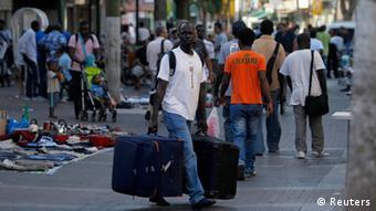 Israel Samuel Akue Flüchtling Sudan Tel Aviv Abschiebung Religion Fanatismus