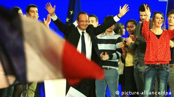 ©PHOTOPQR/LE PROGRES/JUSTE PHILIPPE/ LYON/LE 01/03/2012/ MEETING DE FRANCOIS HOLLANDE AU PALAIS DES SPORTS/ DISCOURS DE FRANCOIS HOLLANDE FRANCE/ LYON/120301/ FRENCH CANDIDAT FRANCOIS HOLLANDE FOR THE FRESIDENTIAL IN MEETING