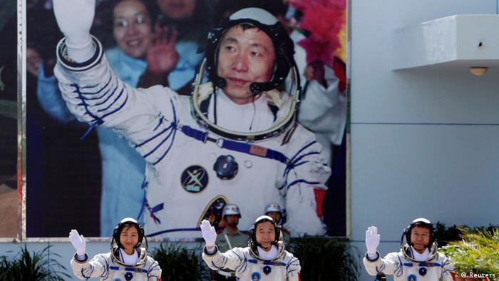 Raumfahrt China Shenzhou-8 (Reuters)