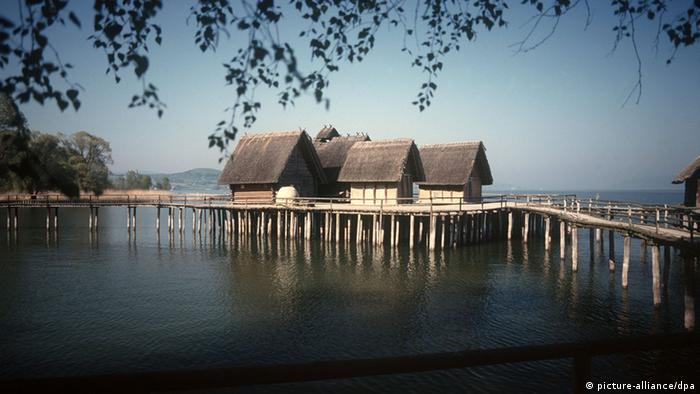 Prehistoric pile dwellings on Lake Constance