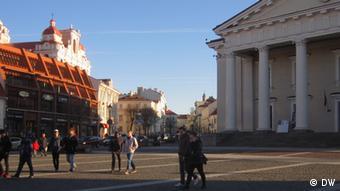 Рыночная площадь в Вильнюсе