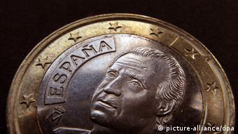 Spanish euro coin (picture: Karl-Josef Hildenbrand / dpa)