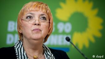 کلاودیا روت، رئیس حزب سبزها