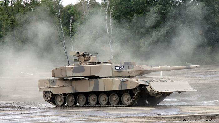 Leopard 2 A7+ der Firma KMW (Foto vom September 2010). dpa