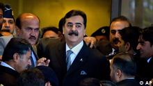 Prime Minister Gilani was dismissed by the Pakistani Supreme Court