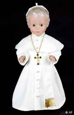 Puppenklinik Deutsche Klassiker Papstpuppe Papst