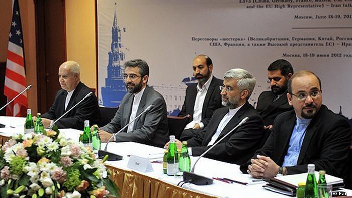 Iranische Delegation in Moskau (Foto: Fars)