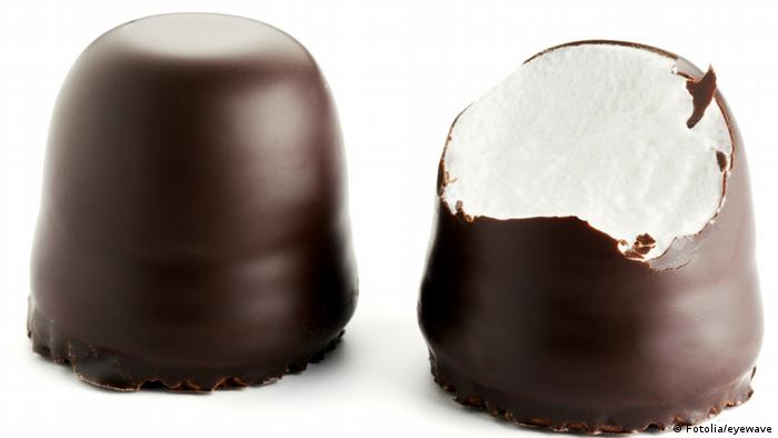 Marshmellow chocolate sweets