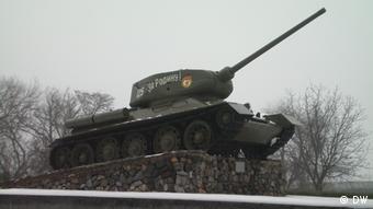 A tank in Tiraspol, Transnistria, as a war memorial Olga Sosnytska.