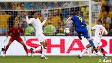 UEFA EURO 2012 England Ukraine Oleh Gusev Torschuss