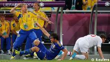 UEFA EURO 2012 England Ukraine Oleg Blokhin Trainer