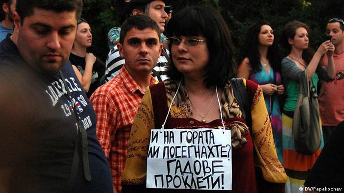 Bulgarien proteste Bebauung Naturpark Vitosha