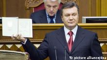 Ukrainian President Viktor Yanukovych (picture: EPA/ ANASTASIYA SIROTKINA / dpa)l