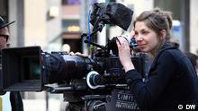 Filmkameras in einem Filmstudio in Warschau