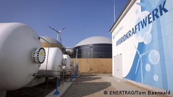 Гибридная электростанция в Германии