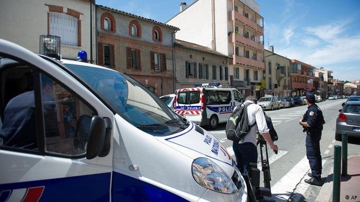 Hostage situation in Toulouse.