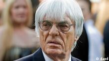 Formel 1 Chef Bernie Ecclestone