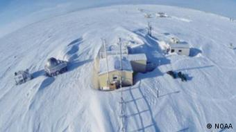 Die NOAA-Forschungsstation in Barrow (Alaska)