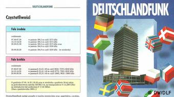 50 Jahre Polnisches Programm DW/DLF, Flyer DW/DLF, 80/90 Jahre