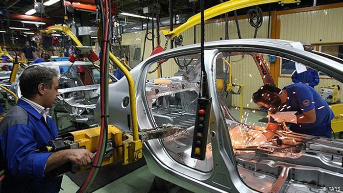 صنایع خودروسازی در ایران