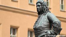 Denkmal Georg Friedrich Händel in Halle (Saale) Fotolia_11726341 Udo Kruse - Fotolia 2006