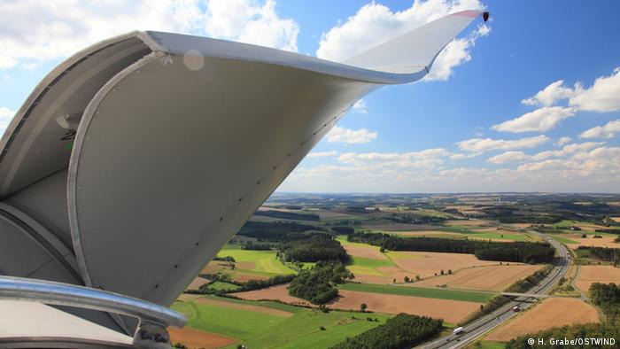 Windflügel (Foto: H. Grabe/OSTWIND)