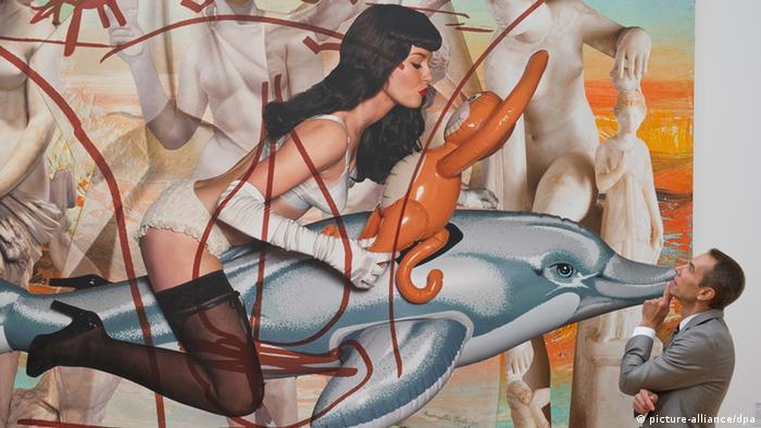 Jeff Koons Ausstellung in Frankfurt am Main 2012