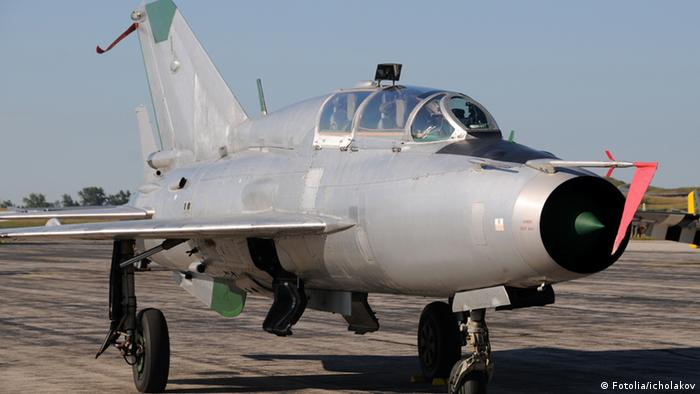 Symbolbild Sowjetischer Kampfjet Mig-21 (Archiv-Foto: Fotolia/icholakov)