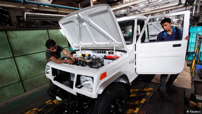 Indien Wirtschaftskraft (Reuters)