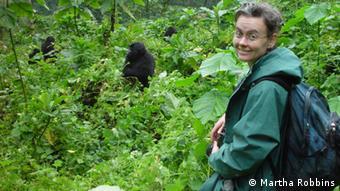 Biologist Martha Robbins (photo: Martha Robbins)