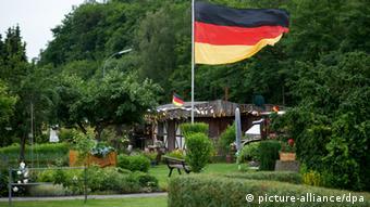 Ein Schrebergarten des Gartenvereins Brünninghausen in Dortmund (Foto: dpa)