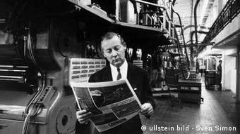 Axel Springer Rotation Rotation des Berliner Verlagshauses